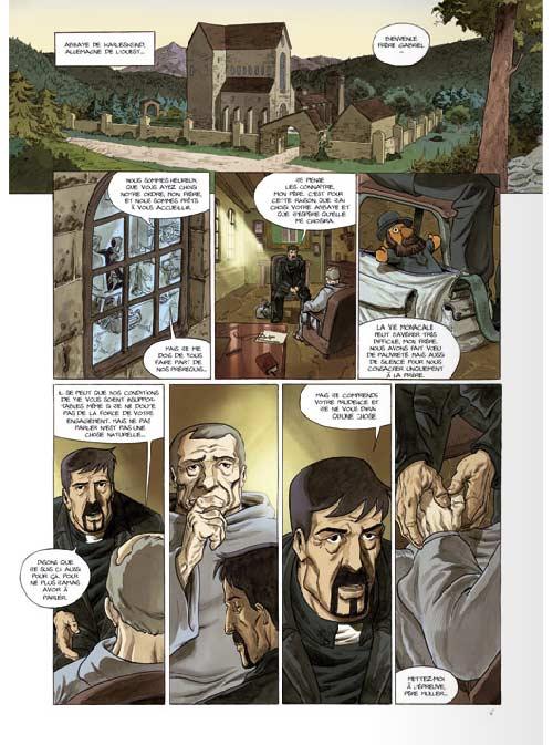 Le messager T4 : Demain, les écritures... (0), bd chez Bamboo de Richez, Mig, Aurelia, Sad