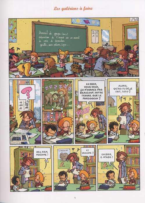 Les blagues de Toto T6 : L'as des pitres (0), bd chez Delcourt de Coppée, Lorien