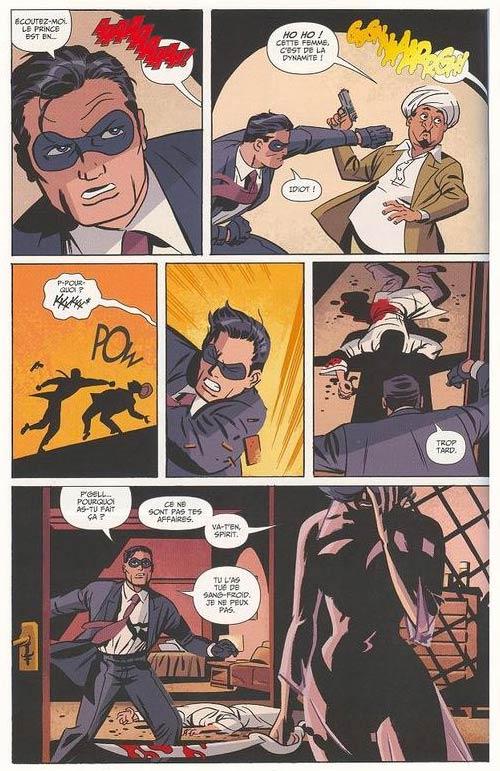 Le spirit T1, comics chez Panini Comics de Cooke, Loeb, Stewart
