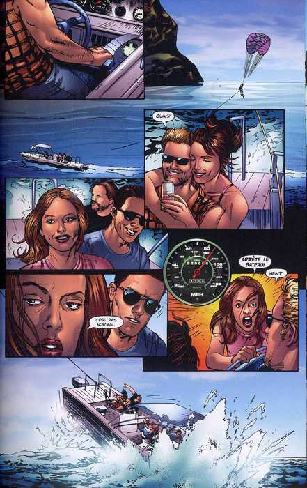 Destination Finale T1 : Vacances mortelles (0), comics chez Wetta de Kalvoda, Medina, Ro