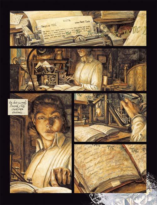 Moksha T1 : Frank (0), bd chez Robert Laffont de d' Amico, Ricci