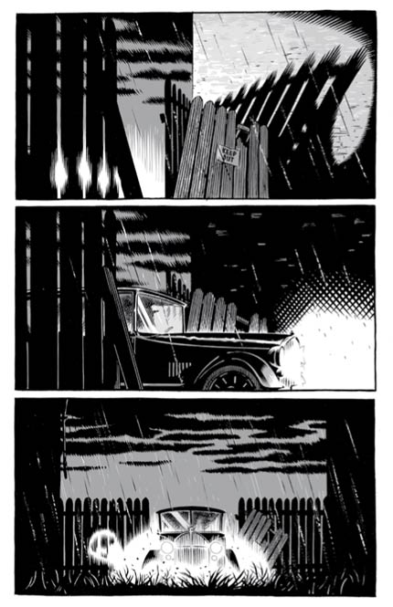 The Damned – version noir et blanc, T1 : Mort pendant trois jours (0), comics chez Akileos de Bunn, Hurtt