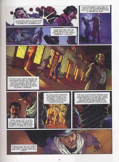 Double assassinat dans la rue Morgue, d'edgar Alan Poe, bd chez Delcourt de Morvan, Druet, Wang