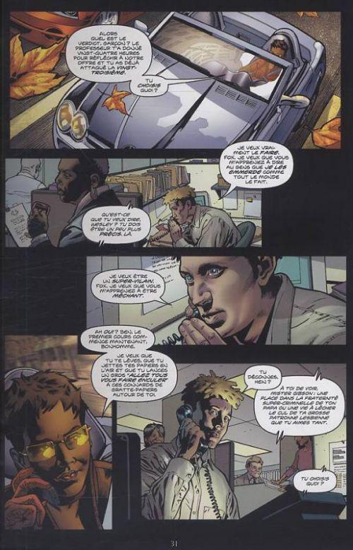 Wanted, comics chez Delcourt de Millar, Jones, Mounts