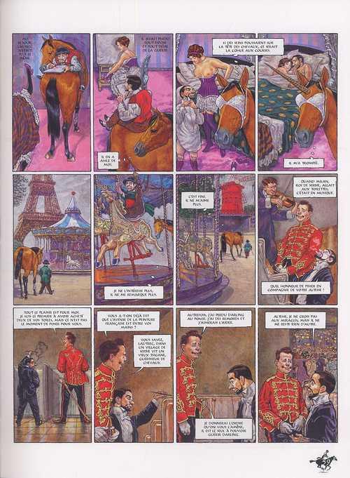 Le cabaret des muses T4 : Darling pour toujours (0), bd chez Delcourt de Smudja