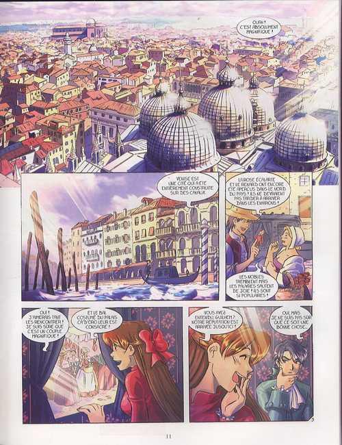 La rose écarlate – cycle 1, T4 : J'irai voir Venise (0), bd chez Delcourt de Lyfoung, Ogaki