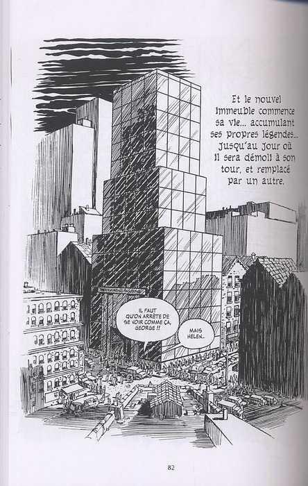 New-York trilogie T2 : L'immeuble (0), comics chez Delcourt de Eisner