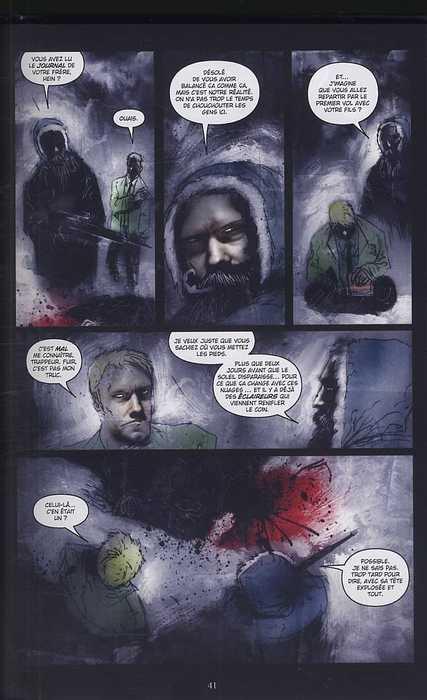 30 jours de nuit T3 : Retour à Barrow (0), comics chez Delcourt de Niles, Templesmith