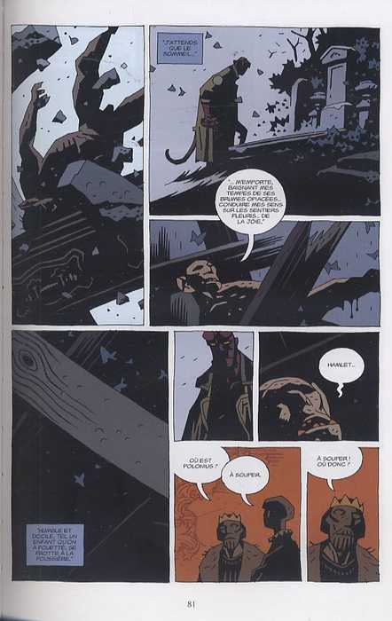 Hellboy T8 : Trolls et sorcières (0), comics chez Delcourt de Mignola, Corben, Russel, Stewart