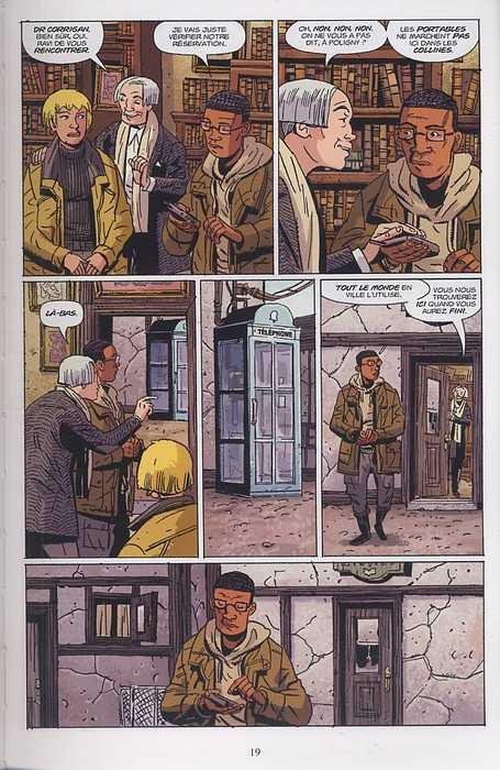 B.P.R.D. T6 : La machine universelle (0), comics chez Delcourt de Mignola, Arcudi, Davis, Stewart