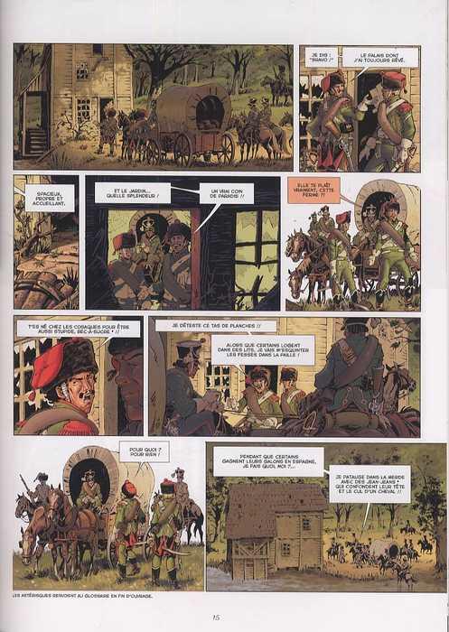 Souvenirs de la grande armée T2 : 1808 - Les Enfants de la veuve (0), bd chez Delcourt de Dufranne, Alexander, Fernandez