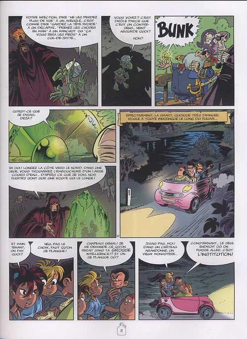 Zowie T3 : L'heure des mutants (0), bd chez Dargaud de Bosse, Darasse