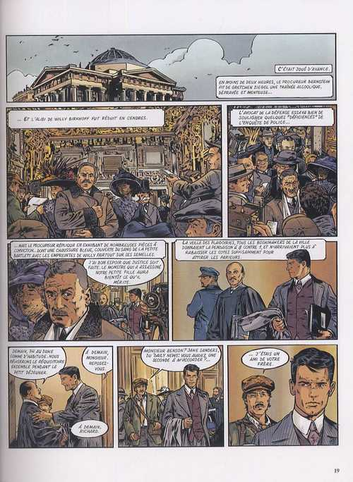 Le maître de Benson Gate T2 : Huit petits fantômes (0), bd chez Dargaud de Nury, Garreta, Chagnaud