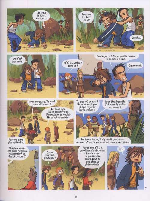 Les enfants d'ailleurs – cycle 1, T3 : Le maître des ombres (0), bd chez Dupuis de Nykko, Bannister, Jaffré