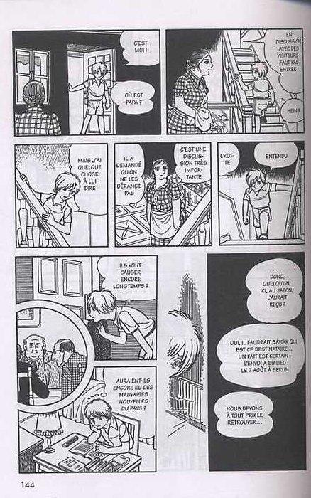 L'histoire des 3 Adolf T1, manga chez Tonkam de Tezuka
