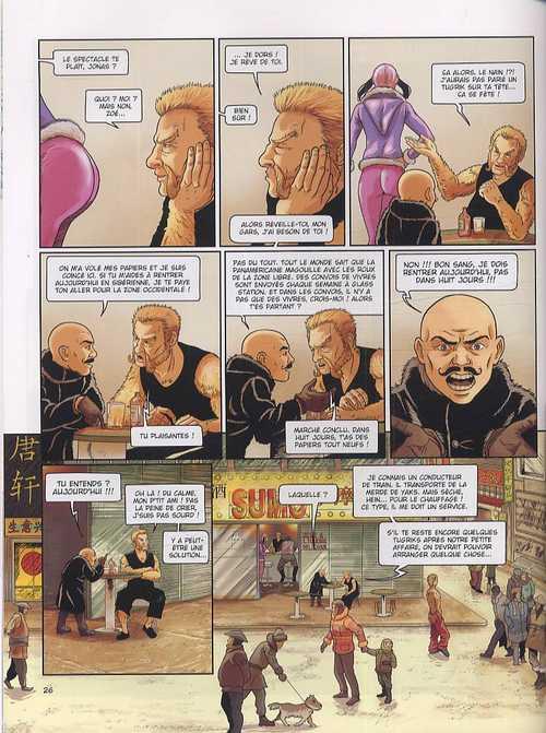 La compagnie des Glaces – cycle 2 : Cabaret Miki, T12 : La fin d'un rêve (0), bd chez Dargaud de Studio Jotim