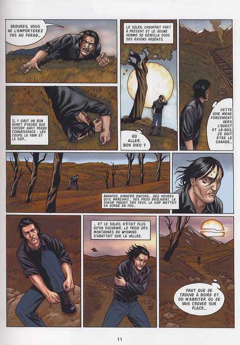 La légende de Cassidy T1 : 100 tueurs dans la plaine (0), bd chez Emmanuel Proust Editions de Martin, Hanuka, Forest