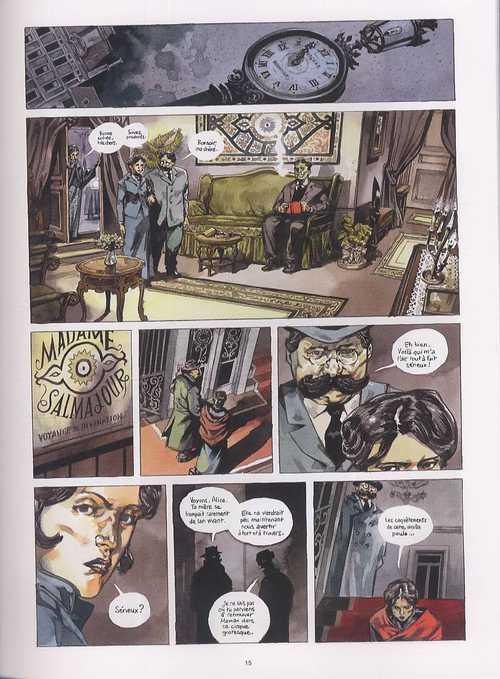 Sequana T1 : Le guetteur mélancolique (0), bd chez Emmanuel Proust Editions de Henry, Perger