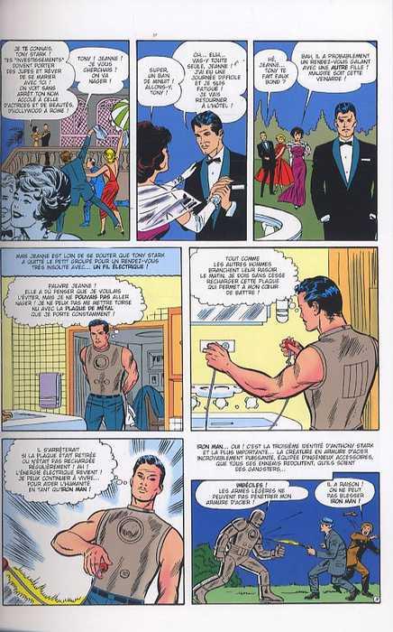 Iron Man - L'intégrale : 1963 - 1964 (0), comics chez Panini Comics de Korok, Lieber, Bernstein, Lee, Kirby, Heck, Ditko, Jackson