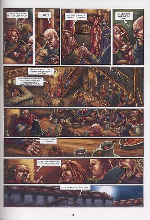 Le chant des elfes T1 : La Dernière Alliance (0), bd chez Soleil de Falba, Ratera, Max