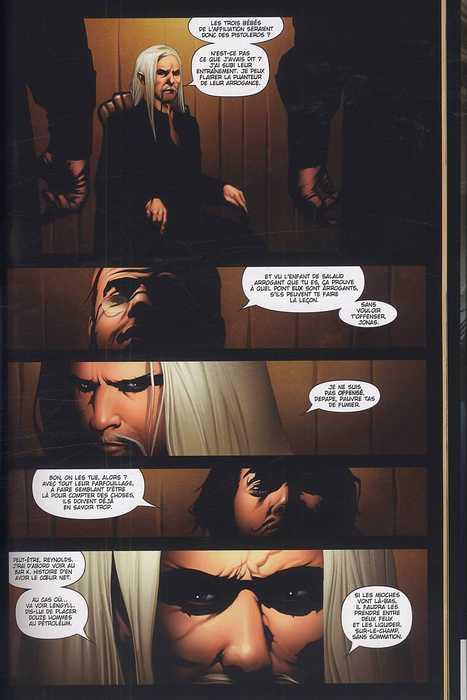 La tour sombre T2, comics chez Fusion Comics de David, Furth, Lee, Isanove