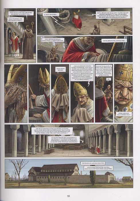 Les druides T4 : La Ronde des Géants (0), bd chez Soleil de Istin, Jigourel, Lamontagne