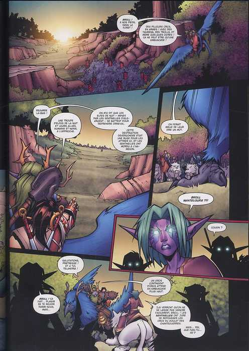 World of Warcraft T2 : L'Appel du Destin (0), comics chez Soleil de Simonson, Lullabi, Mayor
