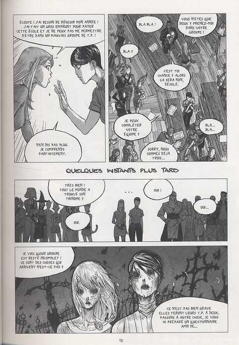 Freaks' Squeele – Version classique, T1 : Etrange université - Edition spéciale 15 ans (0), bd chez Ankama de Maudoux