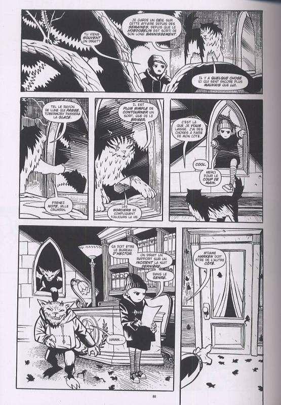 Courtney Crumrin – Edition Noir & Blanc, T2 : et l'assemblée des sorciers (0), comics chez Akileos de Naifeh