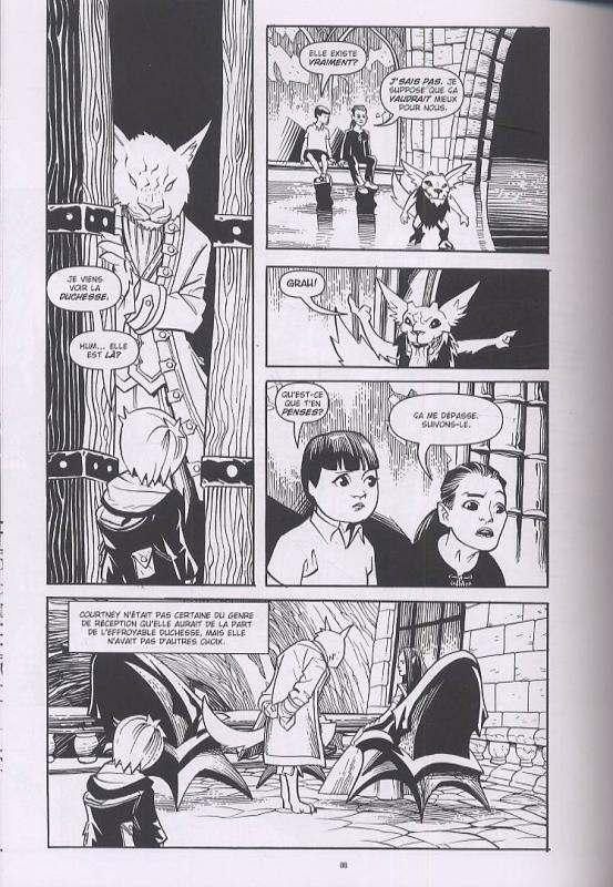 Courtney Crumrin – Edition Noir & Blanc, T3 : et le Royaume de l'Ombre (0), comics chez Akileos de Naifeh