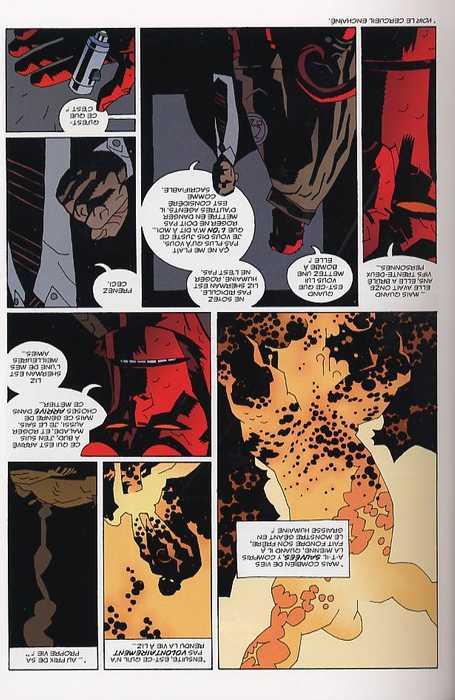 Hellboy T6 : Le ver conquérant (0), comics chez Delcourt de Mignola, Stewart