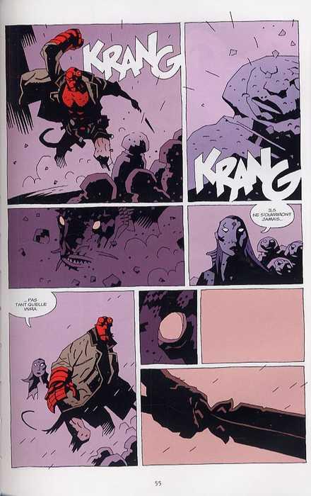 Hellboy T7 : Le troisième souhait (0), comics chez Delcourt de Mignola, Stewart