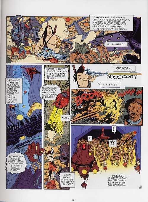 Anibal Cinq T1, bd chez Les Humanoïdes Associés de Jodorowsky, Bess