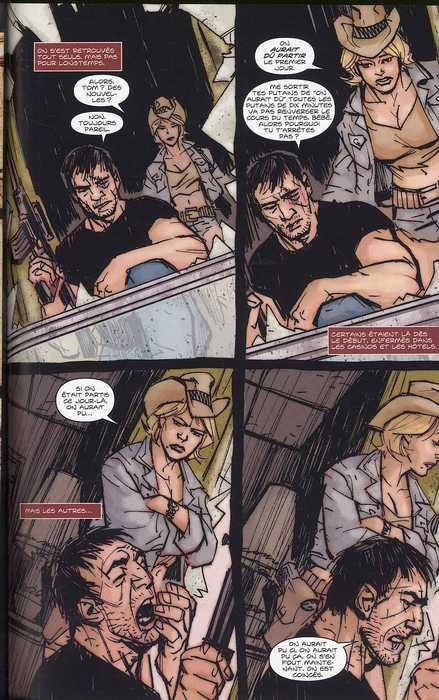Remains : Roulette, zombies et canon scié (0), comics chez Bamboo de Niles, Dwyer, Jaten
