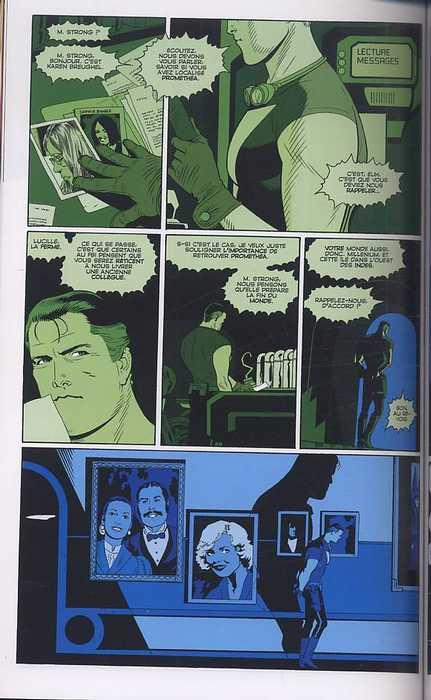 Promethea T6, comics chez Panini Comics de Moore, Williams III, Gray