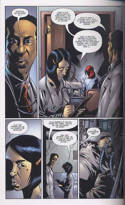Hood T1 : Pierres de sang (0), comics chez Panini Comics de Vaughan, Hotz, Haberlin, Powell