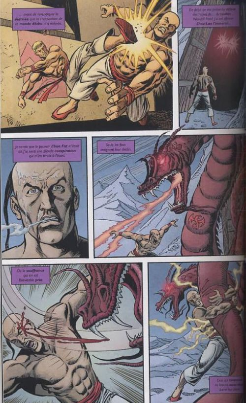Iron Fist (2007) T1 : L'histoire du dernier Iron Fist (0), comics chez Panini Comics de Brubaker, Fraction, Aja, White, Martin, Hollingsworth