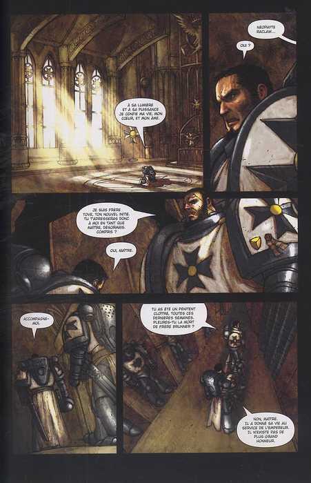 Warhammer 40.000 T2 : La bataille de Carrion Gulf (0), comics chez Soleil de Edginton, Abnett, Lapham, Boychuk, Chin, Antonio, Ringuet, Imaginary friends studio, Aeronik