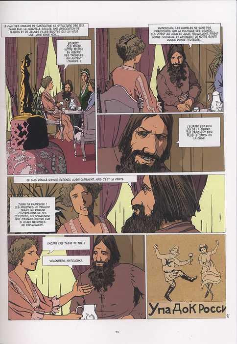Raspoutine T3 : La conspiration de Youssoupov (0), bd chez Emmanuel Proust Editions de Tarek, Pompetti, Langlois