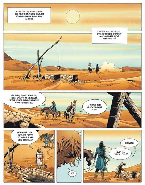 Croisade – cycle 1, T2 : Le qua'dj (0), bd chez Le Lombard de Dufaux, Xavier, Chagnaud