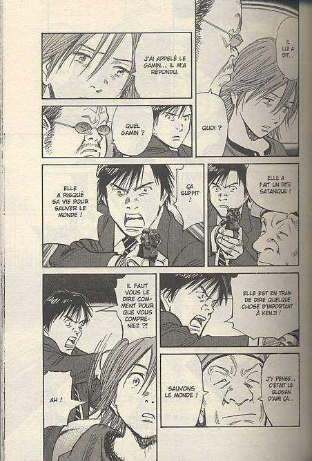 21st Century Boys T2, manga chez Panini Comics de Nagasaki, Urasawa