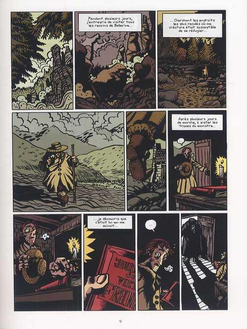 De Mary Shelley frankenstein T3, bd chez Delcourt de Mousse