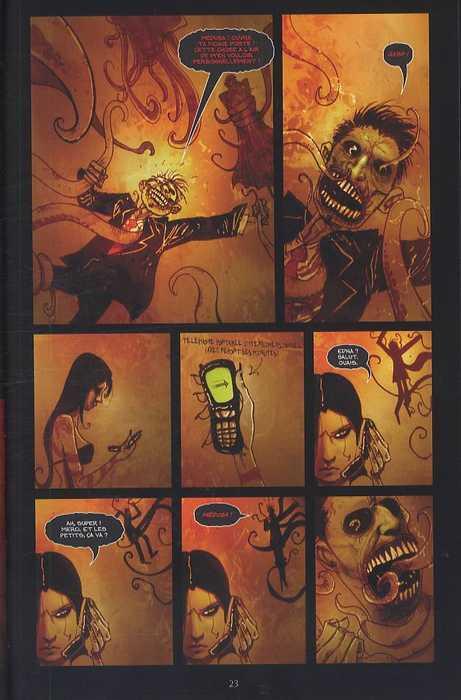 Wormwood T1 : Gentleman zombie (0), comics chez Delcourt de Templesmith