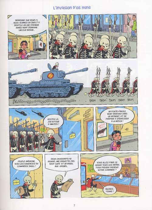 Super blagues T1 : Fini la rigolade ! (0), bd chez Delcourt de Lapuss', Baba, Tartuff