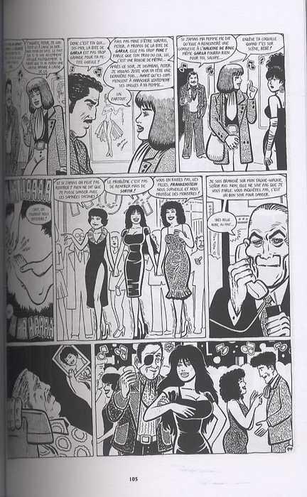 La rivière empoisonnée, comics chez Delcourt de Hernandez