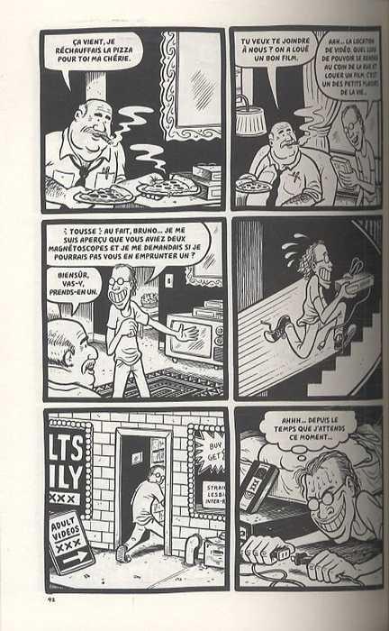 Le pauvre type, comics chez Delcourt de Matt