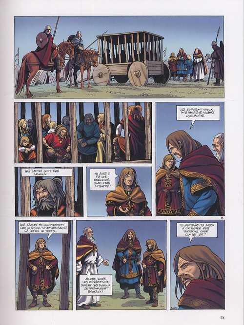 Hammerfall T3 : Les gardiens d'Elivagar (0), bd chez Dupuis de Runberg, Talijancic, Häflinger
