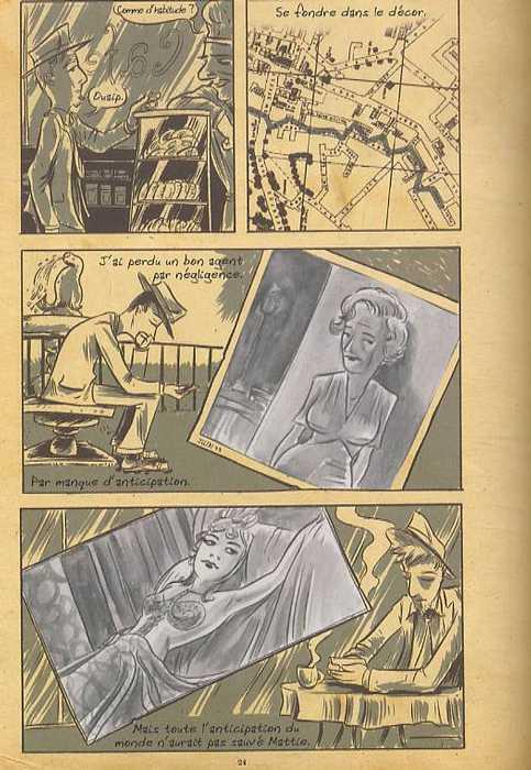 Super spy, comics chez Futuropolis de Kindt