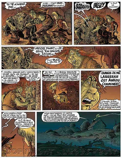 Gildwin T1 : Les légendes océanes (0), bd chez Editions JOS de Toriel, Luguy, Lecocq