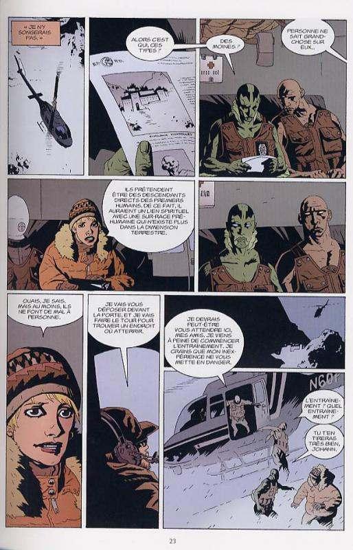 B.P.R.D. T1 : Au creux de la Terre & autres histoires (0), comics chez Delcourt de Mignola, Sniegoski, McDonald, Golden, Sook, Smith, Thompson, Stewart, Sinclair